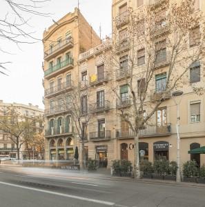 Rehabilitación fachada eixample Barcelona Arquitecto