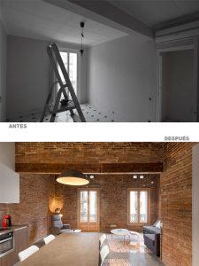 proyectos y obras de interiorismo Barcelona