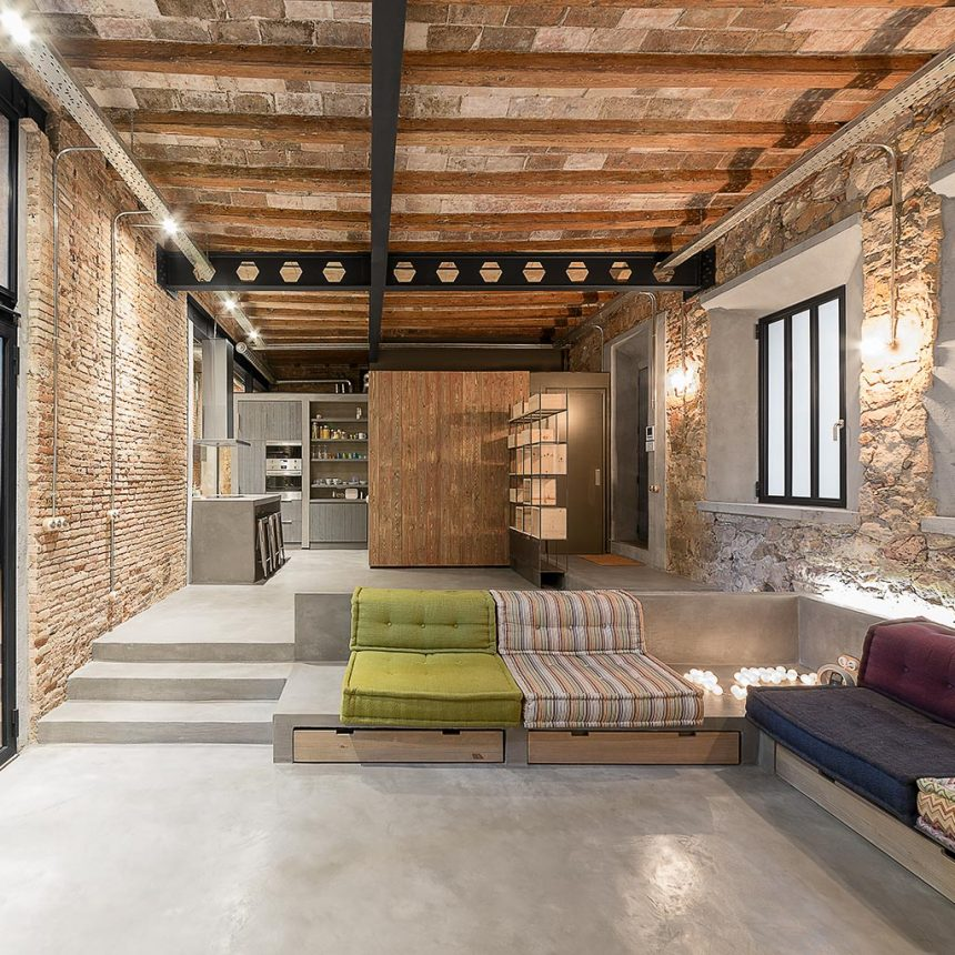 Ffwd arquitectos barcelona arquitectura e interiorismo - Estudios de interiorismo en barcelona ...