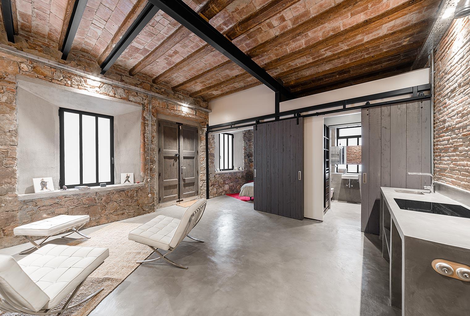 Proyecto arquitectura interiorismo Barcelona