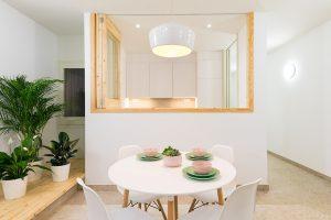 Reforma interior de vivienda en Badalona. Sala