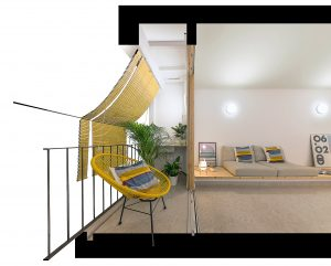 Reforma interior de vivienda en Badalona.