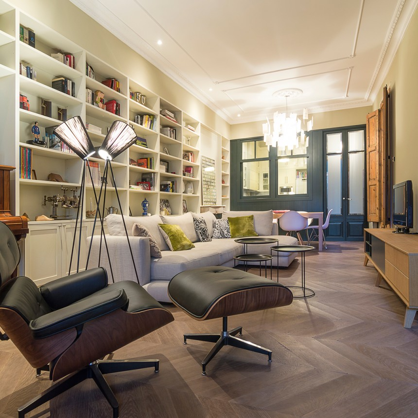 Reforma integral piso. Vivienda Barcelona Arquitecto