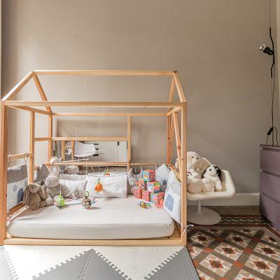 Diseño de cama Montesori Bed